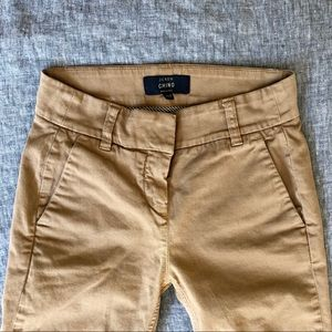 J. Crew petite cropped pant in stretch chino